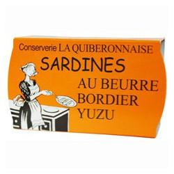Sardines à poêler au beurre Bordier yuzu
