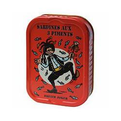 Sardines aux 3 piments Breizh Joker