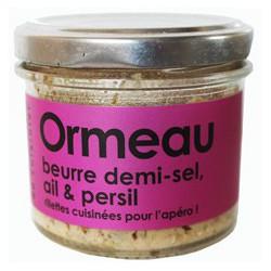 Ormeau beurre demi-sel, ail et persil