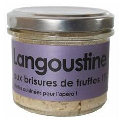 Langoustine aux brisures de truffes 1%