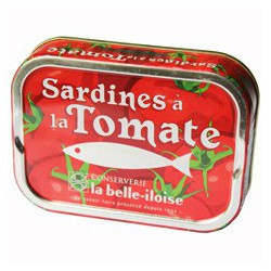 Sardines à la tomate, huile de tournesol