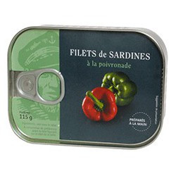 Sardines Filets with poivronade
