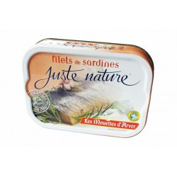 Filets de sardines juste nature