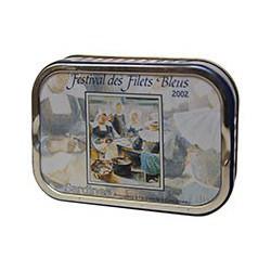 Sardines à l'huile d'olive, affiche du festival des filets bleus 2002