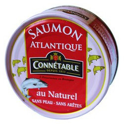 Saumon au naturel