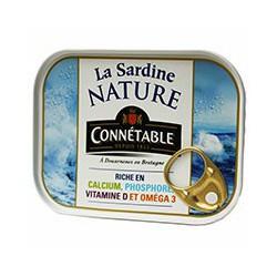 La sardine nature