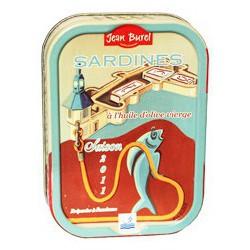 """Sardines à l'huile d'olive """"La Ville-Close"""""""