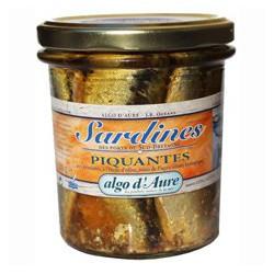 Sardines piquantes aux aromates et à l'huile d'olive