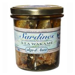Sardines à la wakamé à l'huile d'olive
