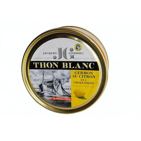 Thon blanc à l'huile d'olive et citron