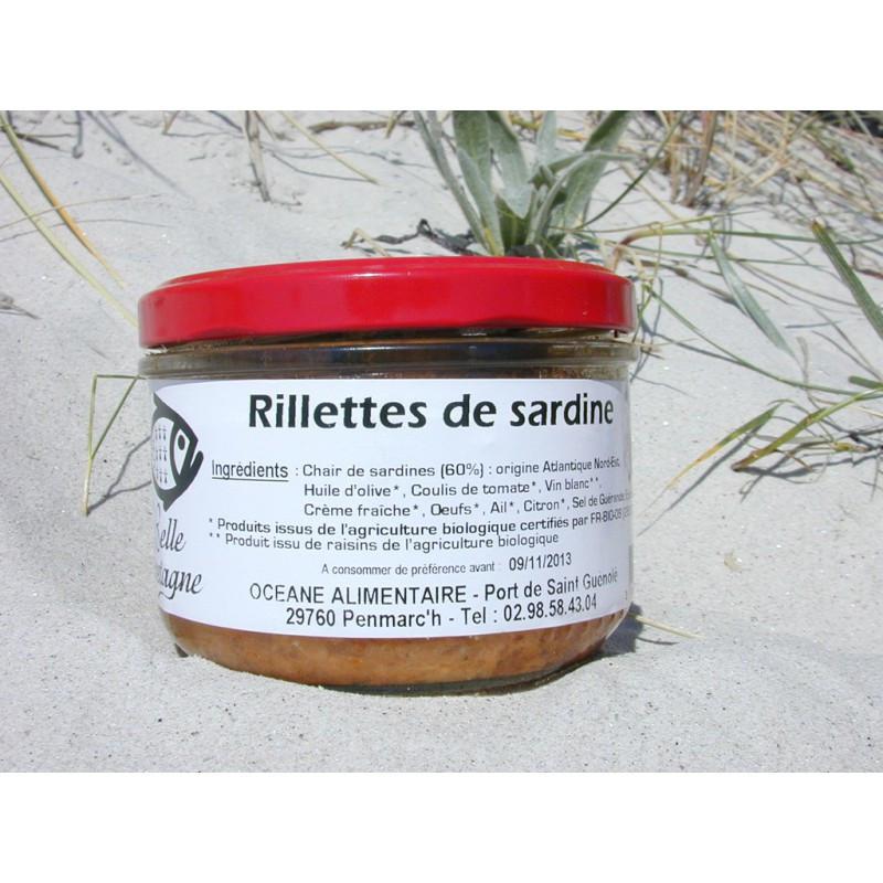 Accueil > Terrines et rillettes > Rillettes de sardine