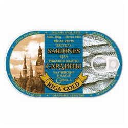 Baltic sardines in oil