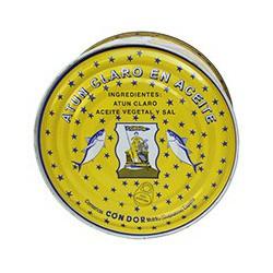 Yellowfin tuna in vegetable oil