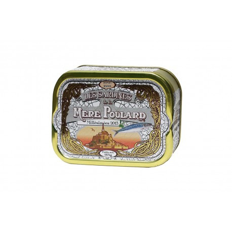 Sardines millésimées 2013 à l'huile d'olive