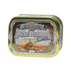 Vintage sardines 2013 in olive oil