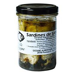 Sardines in olive oil