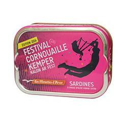 Sardines in olive oil, Cornouaille Festival 2014 Kemper