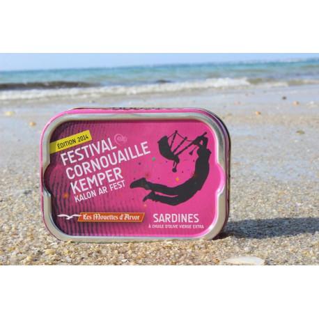 Sardines à l'huile d'olive, Festival Cornouaille Kemper 2014