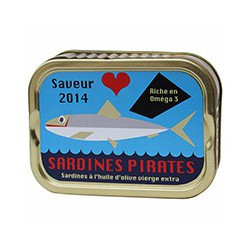 Sardines à l'huile d'olive vierge extra 2014