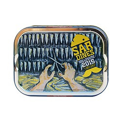 Sardines de saison à l'huile d'olive Ville Bleue 2015