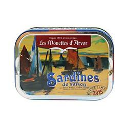 Sardines de saison à l'huile d'olive 2015