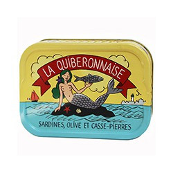 Sardines olive et casse-pierres