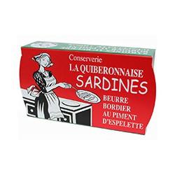 Sardines au Beurre Bordier au piment d'Espelette