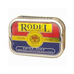 Sardines à l'huile d'olive et aux aromates chica-pica