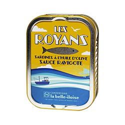 Sardines Les Royans à la sauce ravigote