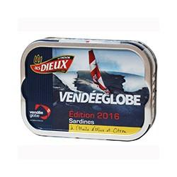 Sardines à l'huile d'olive et citron - Vendée Globe 2016