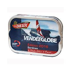 Sardines à l'huile d'olive et piment - Vendée Globe édition 2016