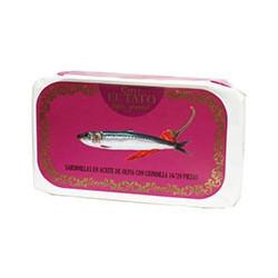 Petites sardines à l'huile d'olive et au piment
