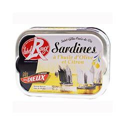 Sardines huile d'olive et citron Label Rouge