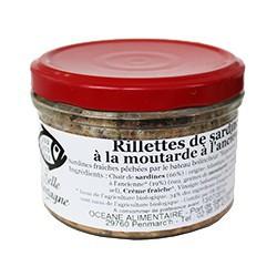 Rillettes de sardine à la moutarde à l'ancienne