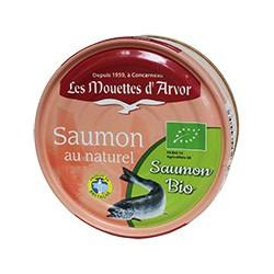 Saumon au naturel bio