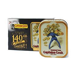 Coffret 140 ans sardines à l'huile d'olive et aux zestes de citron