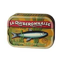 Sardines à l'huile d'olive vierge extra et aux algues