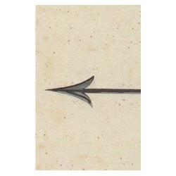 Carte postale flèche