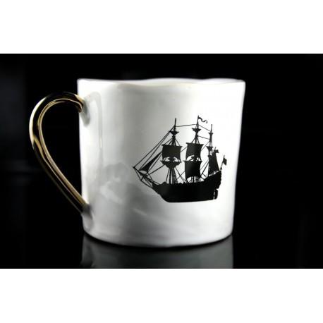 Tasse vieux vaisseau