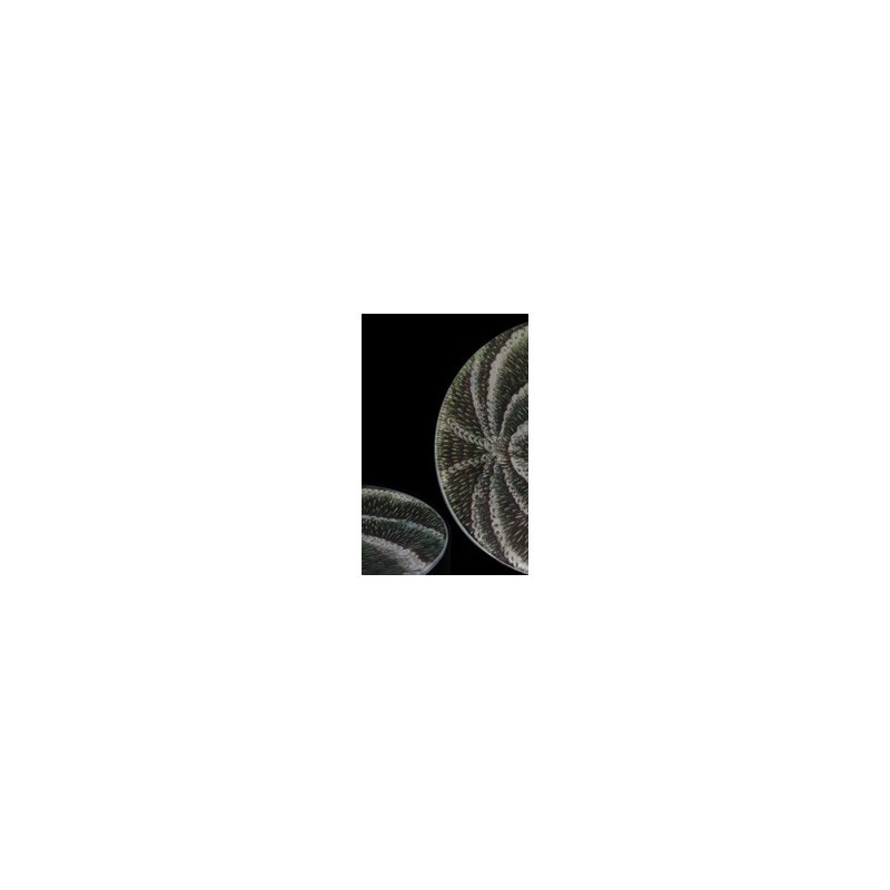 petite assiette motif d 39 oursinin. Black Bedroom Furniture Sets. Home Design Ideas
