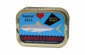 La première boîte de sardines Pirates