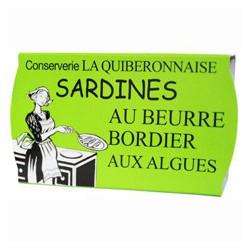 Sardines à poêler au beurre Bordier aux algues
