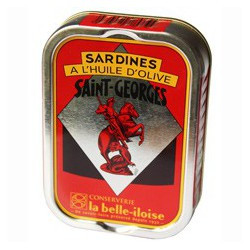 "Sardines in olive oil ""Saint-Georges"""