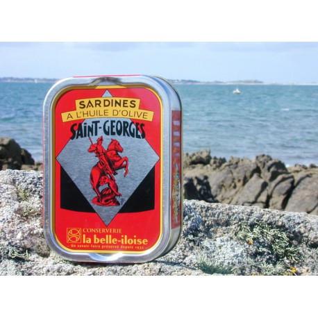 Sardines à l'huile d'olive Saint-Georges