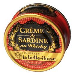 Sardines cream with whisky