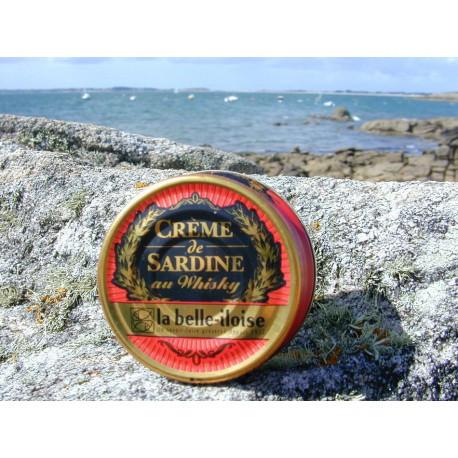 Très bonne crème de sardines au whisky