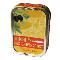 Sardines with olives from Nice
