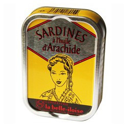 Sardines à l'huile d'arachide