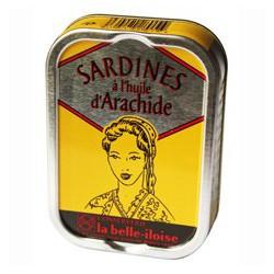 Sardines in peanut oil
