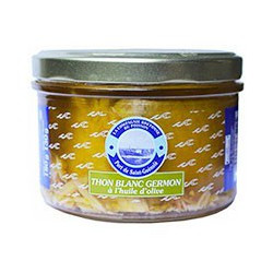 Albacore white tuna in olive oil, 180g